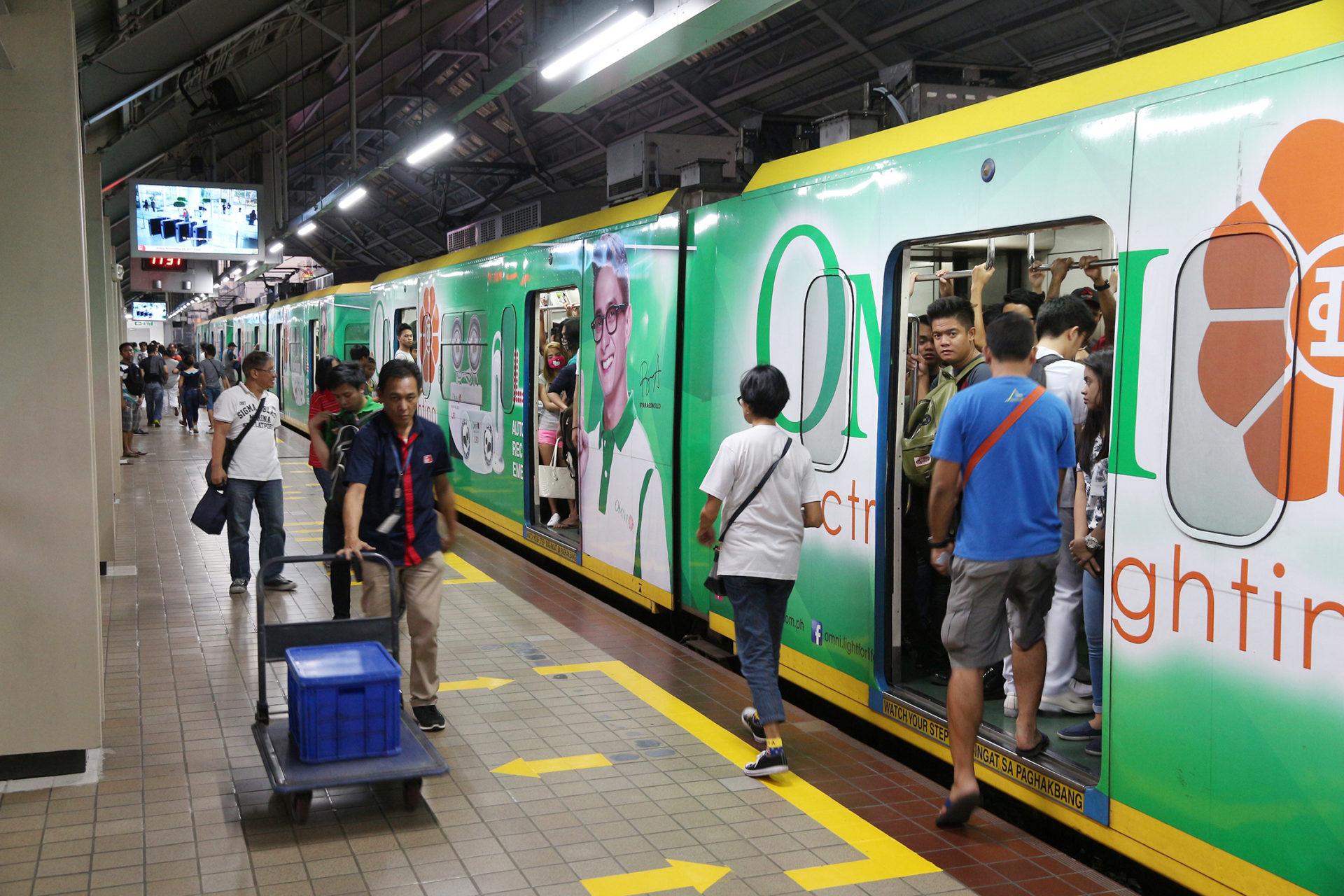 フィリピンの電車