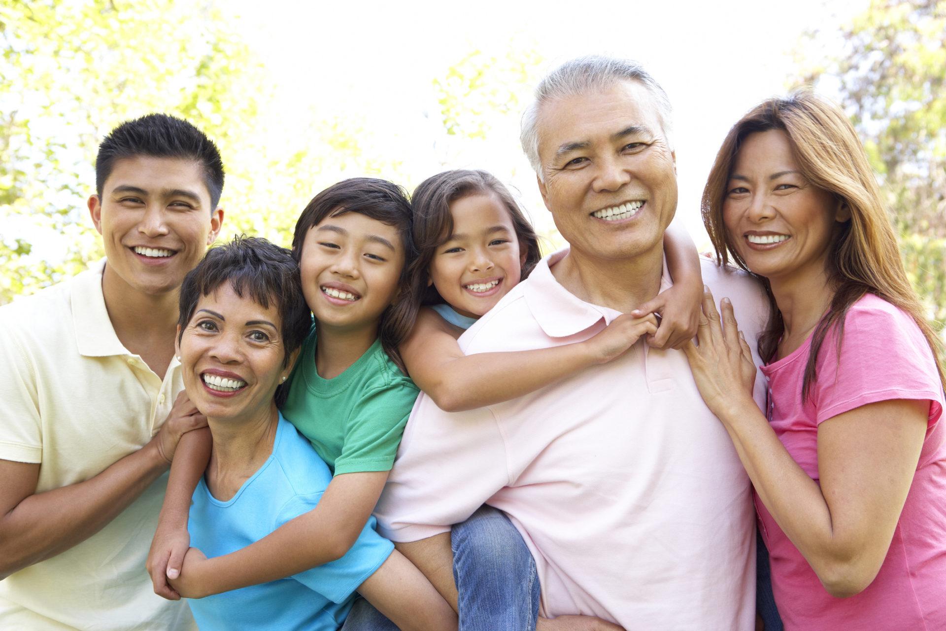フィリピン人の大家族