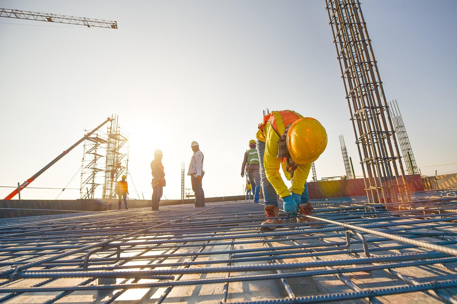 建設業に従事する外国人労働者