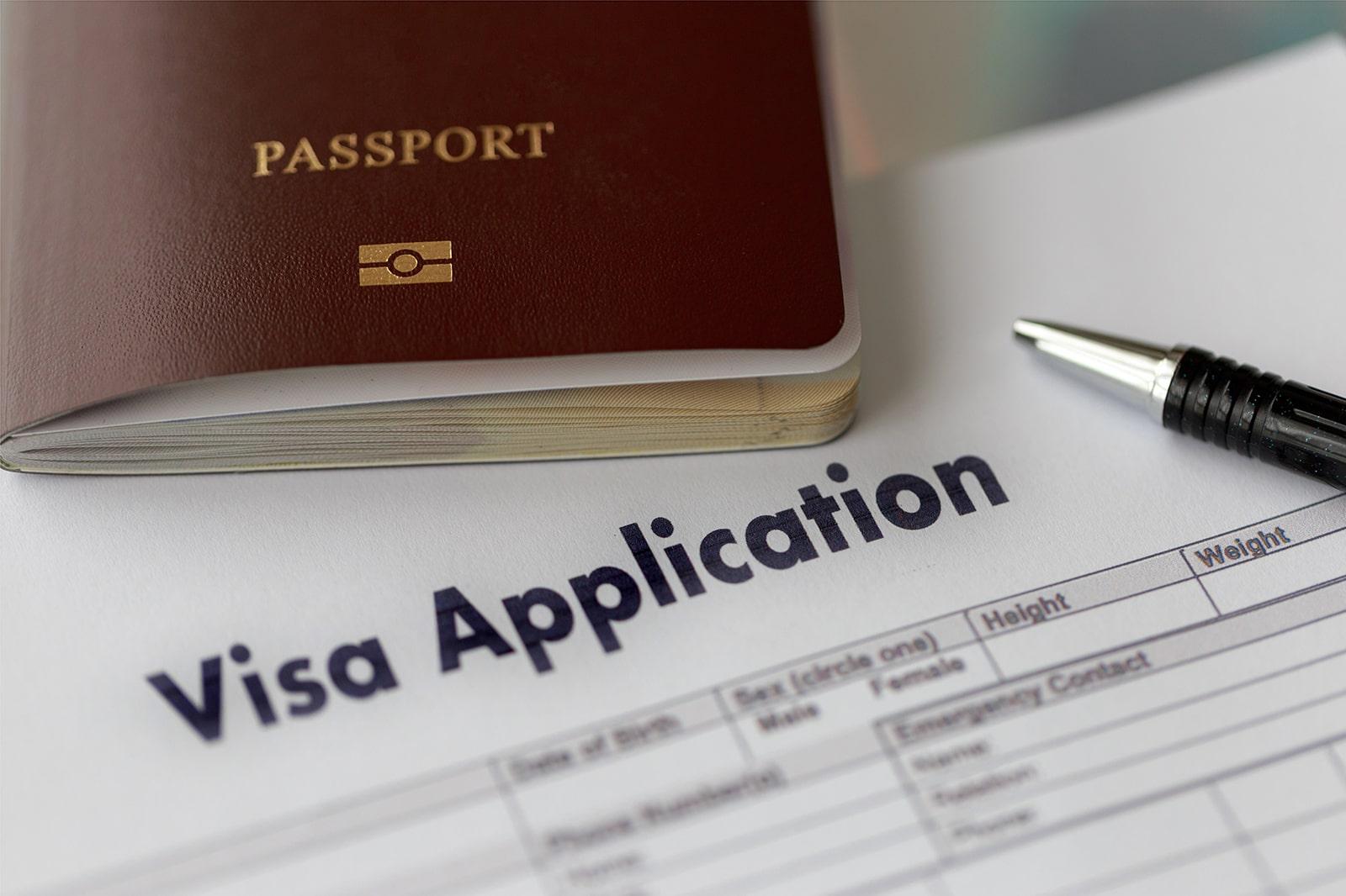 ビザ申請の手続き