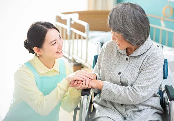 介護施設をサポート
